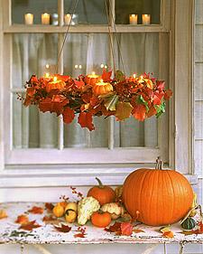 pumpkin candleier