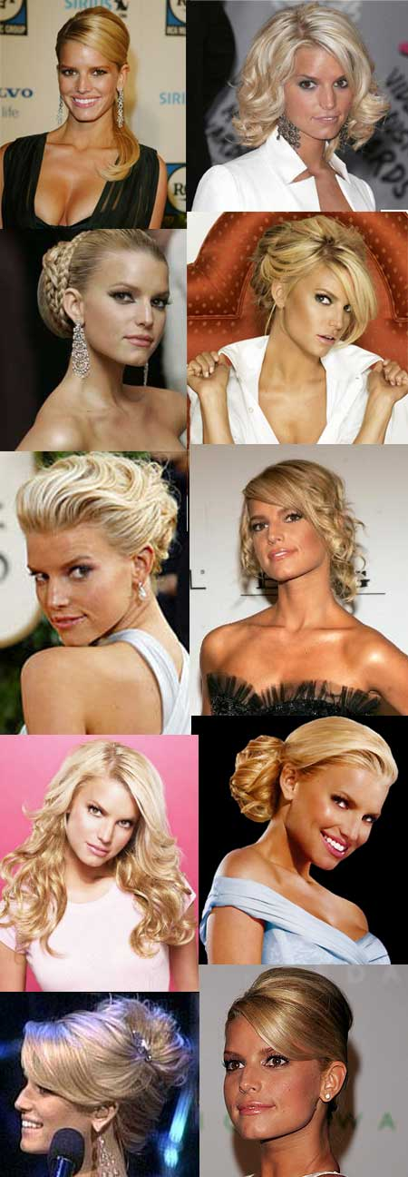 jessica simpson hairstyle. jessica simpson hair