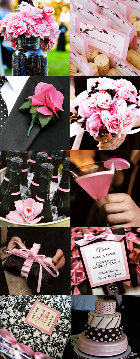 Pink and black make a beautiful combination Especially when they combined