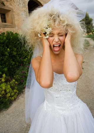 Anger before wedding