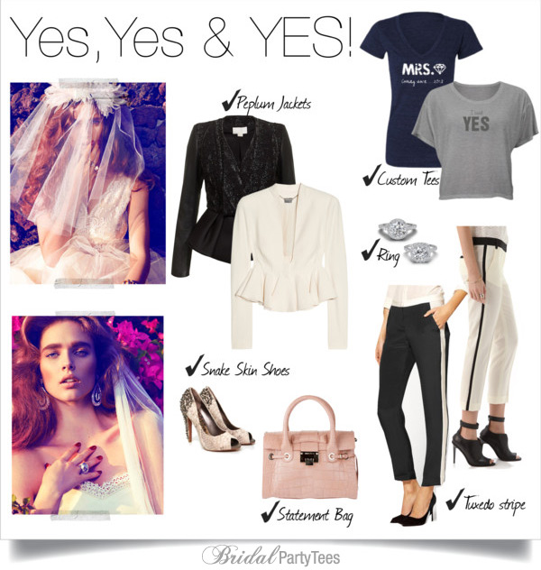 Yes, Yes & YES! Engaged Lookbook