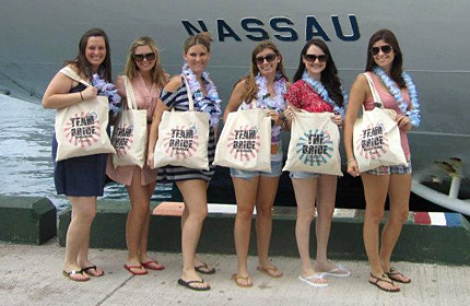 BPT Group Shots: A Bachelorette Cruise
