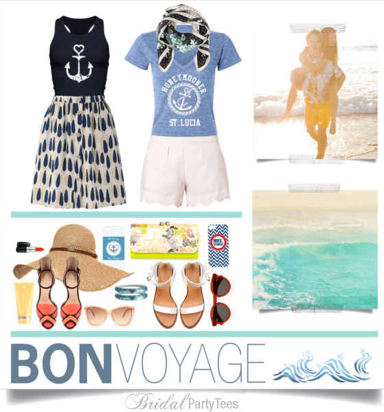 Bon Voyage from Bridal Party Tees