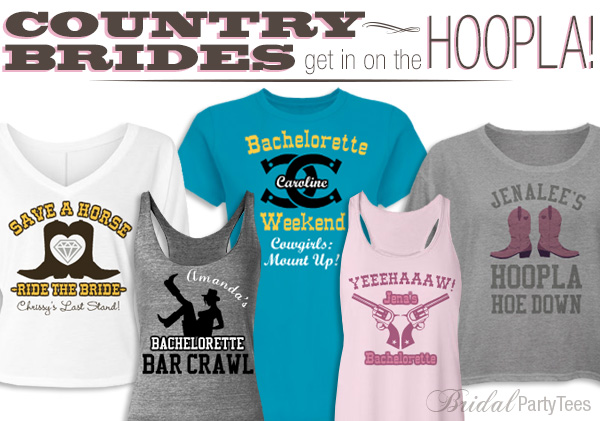 Western Wedding Shirts - Country Bride