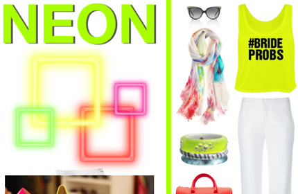 Neon Lookbook: Custom Neon Shirts