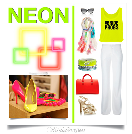 NEON from Bridal Party Tee