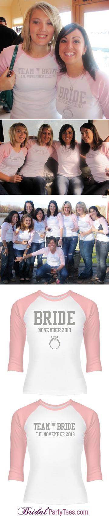 Team Bride Baseball Shirt