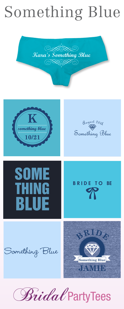 Something Blue For the Bride