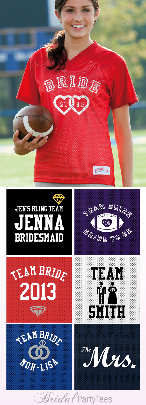 Team Bride Jerseys
