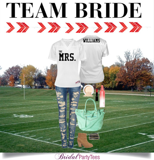 Team Bride by Bridal Party Tees