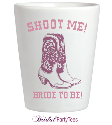 Bride to be shot glass