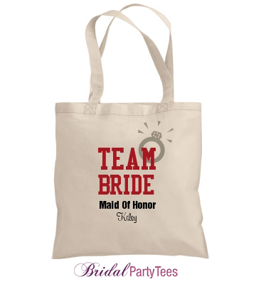Custom Team Bride Bag