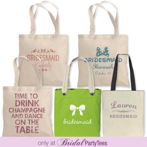 Bridesmaids Tote Bags