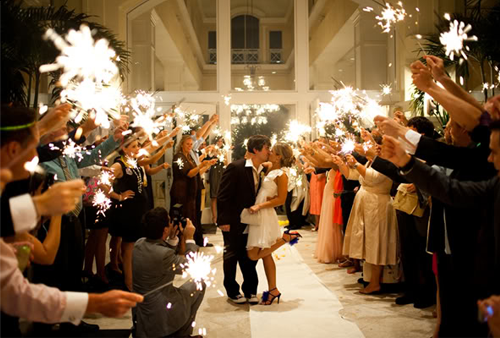 Wedding-sparklers-send-off