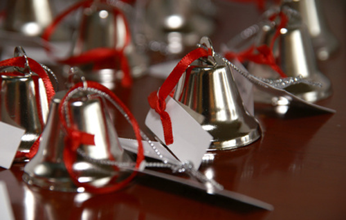 Winter-wedding-bell-ringing