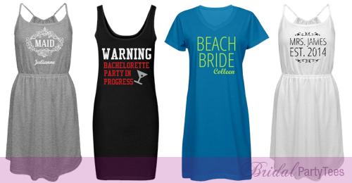 Custom Bachelorette Dresses