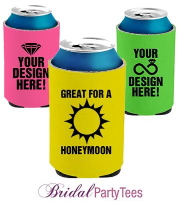Custom Neon Koozies