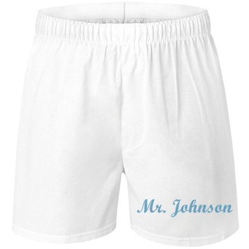 Matching Honeymoon Undies Unisex Robinson Boxer Shorts