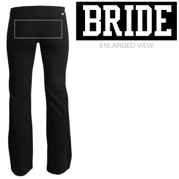Bride Yoga Pants Junior Fit Soffe Yoga Pants