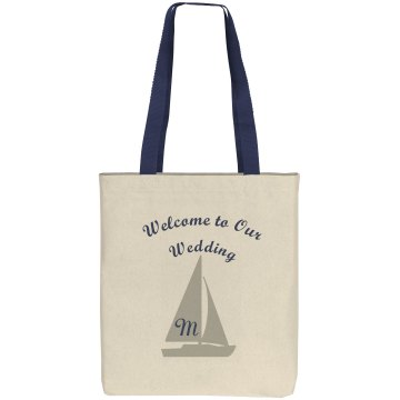 Welcome Tote Bag Liberty Bags Cotton Canvas Tote