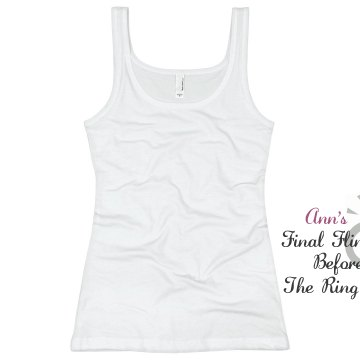 Final Fling Junior Fit Basic Bella 2x1 Rib Tank Top