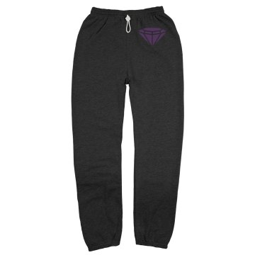 Team Bride Sweats w/ Back Unisex Gildan Ultra Blend Open Bottom Pocketed Sweatpants