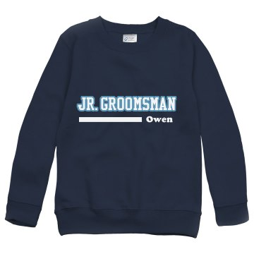 Junior Groomsman Youth Gildan Heavy Blend Sweatshirt