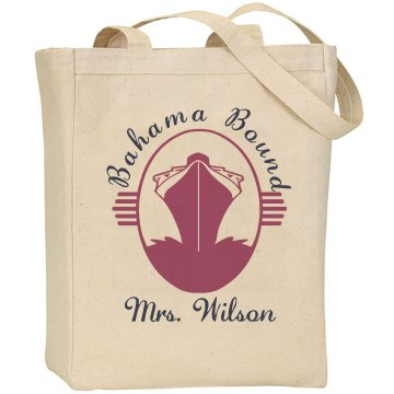 Bahama Bound Tote Liberty Bags Canvas Tote Bag