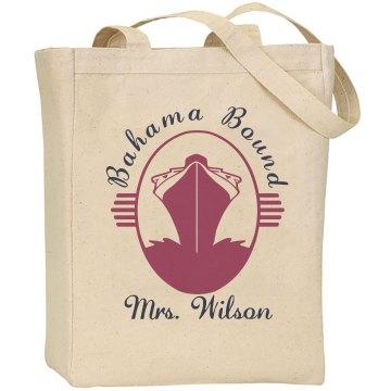 Bahama Bound Tote Liberty Bags Canvas Tote Bag
