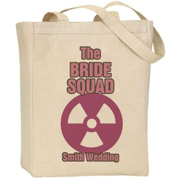 Bride Squad Tote Liberty Bags Canvas Tote Bag