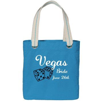 Vegas Bride Bag Port Authority Color Canvas Tote