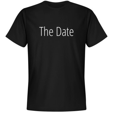 Save The Date w/Back Unisex Gildan Heavy Cotton Crew Neck Tee