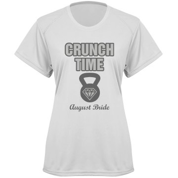 Crunch Time Tee Misses Basic Badger Sport B-Dry Core Performance Tee