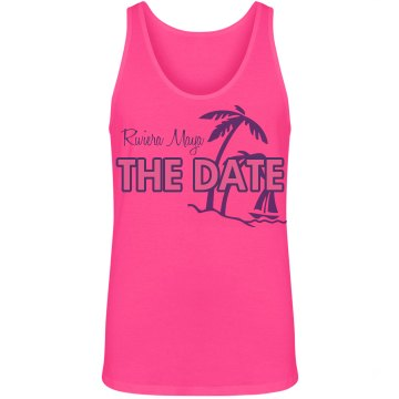 Save The Date Beach Tee Unisex Gildan Heavy Cotton Crew Neck Tee