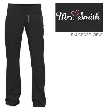 Mrs. Smith Sweats Junior Fit Bella French Terry Lounge Pants