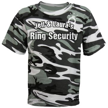 Ring Security Tee Youth Code V Camouflage Tee