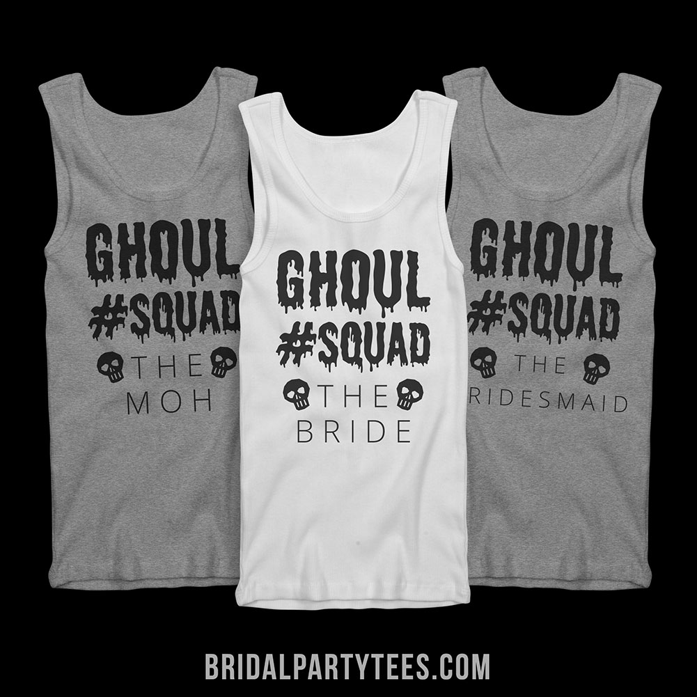 Halloween Bachelorette Party Shirts